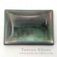 Forma rettangolo in madreperla - 25 x 18 x 4 mm