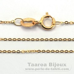 Catena in Oro 18K - Lunghezza = 45 cm / Diametro = 0.8 mm