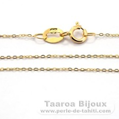 Catena in Oro 18K - Lunghezza = 40 cm / Diametro = 0.7 mm
